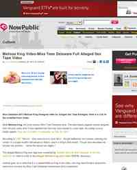 Melissa King Video Miss Teen Delaware Full Alleged: NowPublic